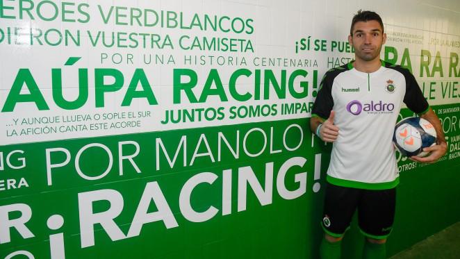 """No vengo a Segunda B, vengo al Racing y eso fue suficiente para decidirme"""",  Barral   Racing - Web Oficial"""