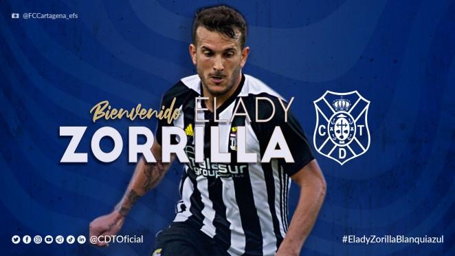 Elady Zorrilla, fichado para las próximas dos temporadas