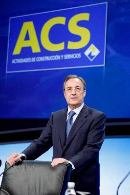 ACS obtuvo un beneficio neto de 1.790 millones hasta septiembre, el 5% más