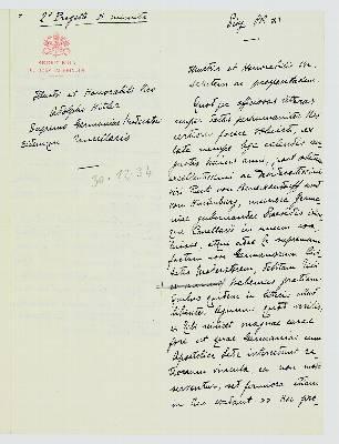 Un libro reproduce la carta que Pío XII escribió a Hitler