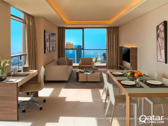 One Bedroom Deluxe In Fraser Suites West Bay Doha