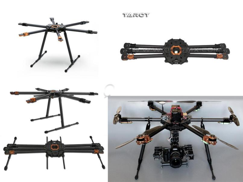 Tarot T810 Hexacopter Frame Set | Fachriframe co
