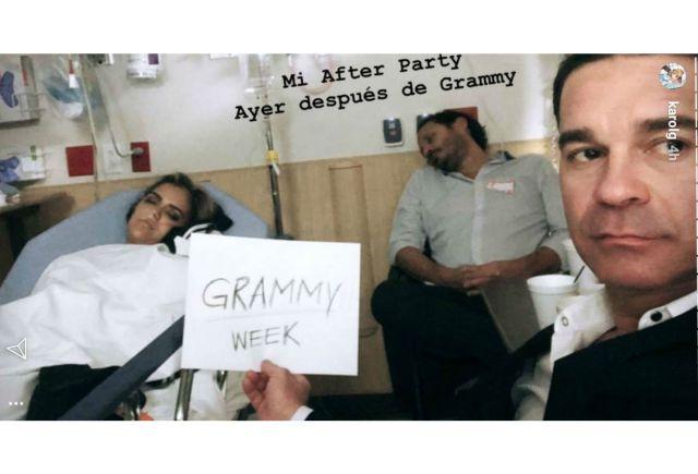 Karol G hospitalizada en Las Vegas