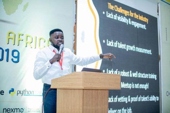 Kelvin Oyana Pycon Africa Talk