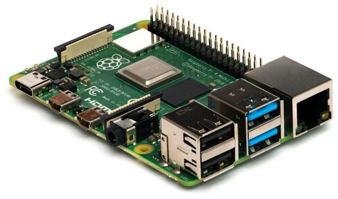 Le Raspberry Pi 4 modèle B