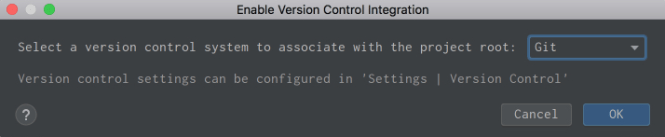 Activer l'intégration du contrôle de version dans PyCharm
