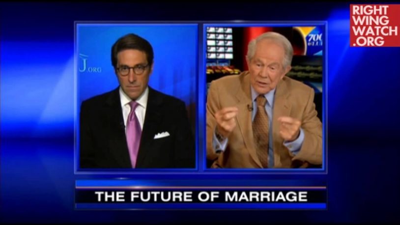Image result for photos of sekulow and pat robertson