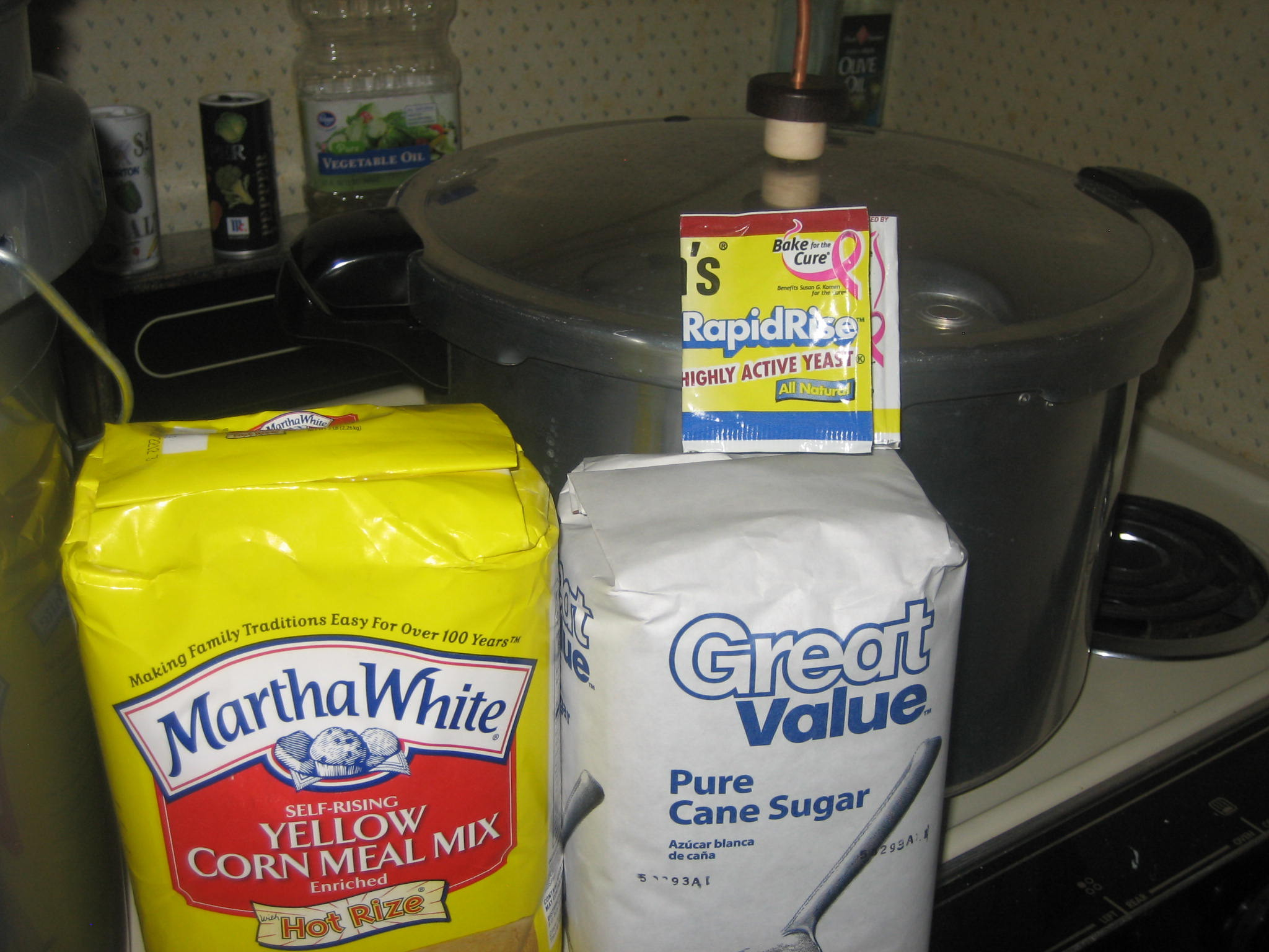 5 gallon cornmeal moonshine recipe