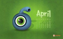Smashing Wallpaper - April 2012