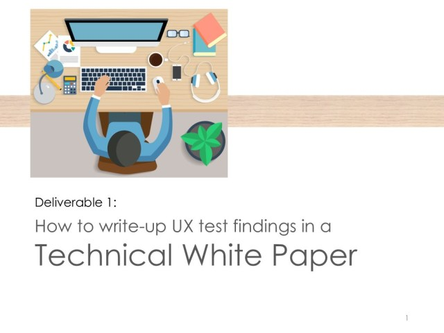 English 29: Project 29 Technical White Paper Slideshare 29