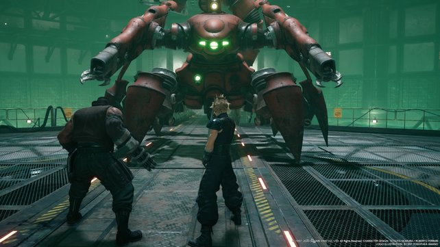 In the Demo for the remake of Final Fantasy 7, then you can play the first Mission, and a ballast Release for example.