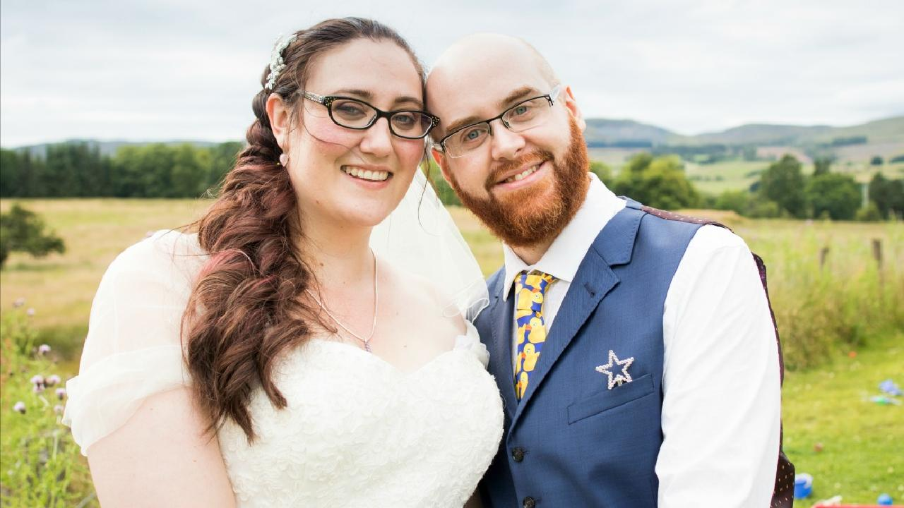 Couple Tie The Knot At Holiday Camp For Children With