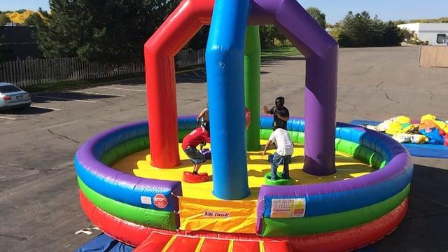 Jacksonville Inflatable Wrecking Ball Game Rental   Coastal     Inflatable Wrecking Ball Game
