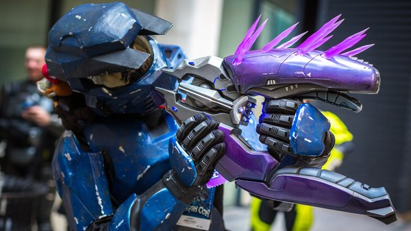 Making A Real Life Halo Needler Prop Tested