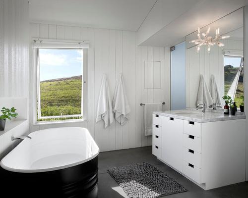 Bathroom On A Budget Stock Tank Bathtubs The Interiors