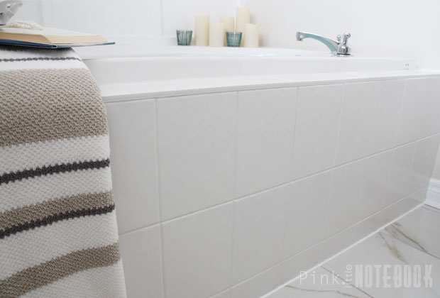 It may be used on interior ceramic tile laminate and melamine surfaces including shower recesses benchtops splashbacks and cupboards. How To Paint Tiles And Save A Fortune The Interiors Addict