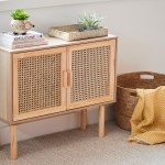 Kmart S New 59 Rattan Sideboard Launching Next Week The Interiors Addict