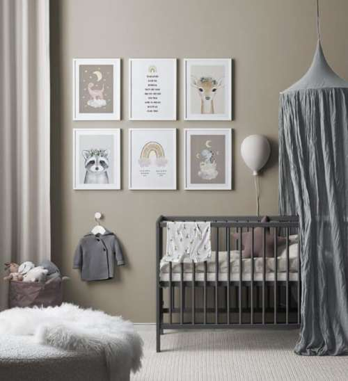 'Lovely Sleep' gallery wall, $174.70