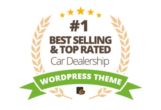 Thème WordPress pour entreprise de concessionnaire automobile - 1