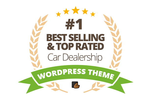 Automotive Car Dealership Business WordPress Theme - 1