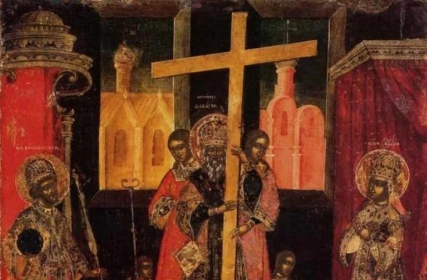 υψωση τιμιου σταυρού
