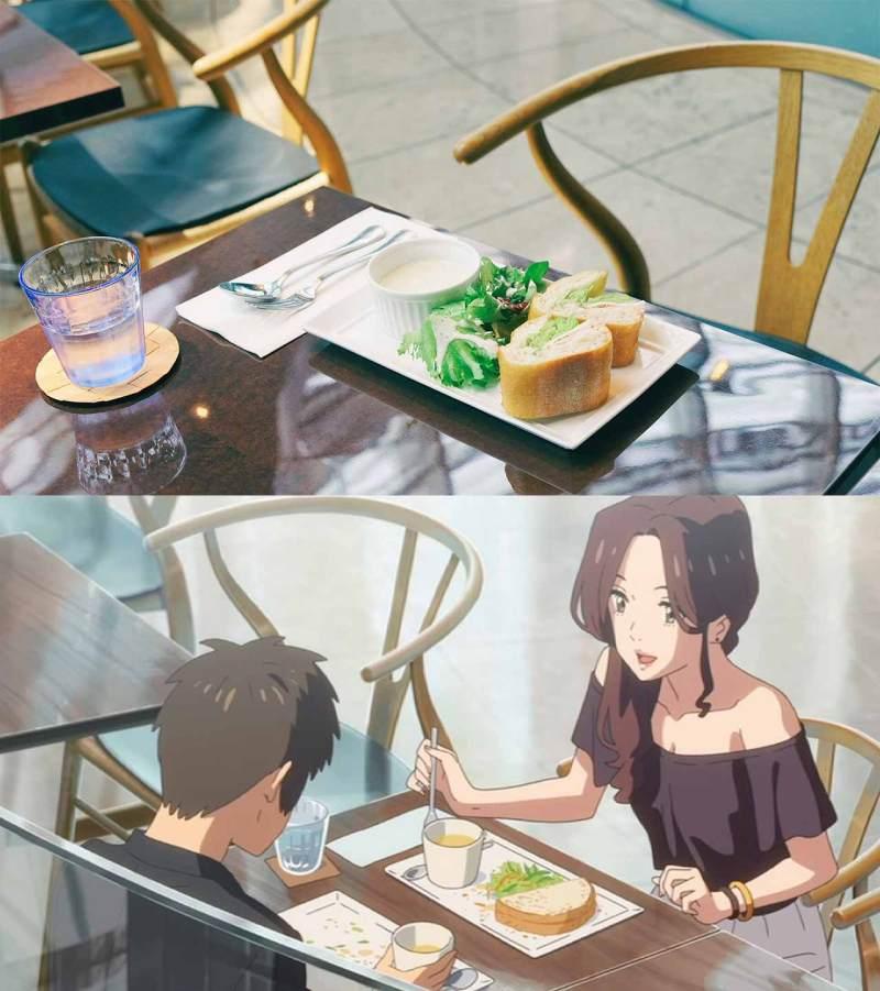 food at salon de the rond