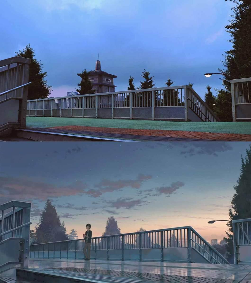 pedestrian bridge in your name