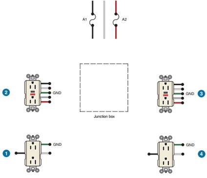 solved  complete the wiring diagram connecting feed
