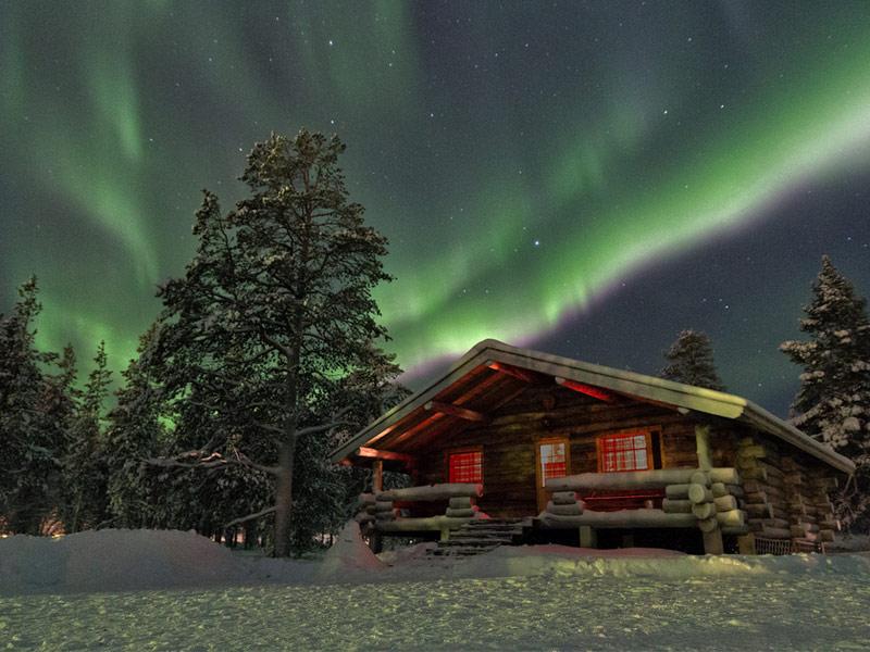 Lights November Finland Northern