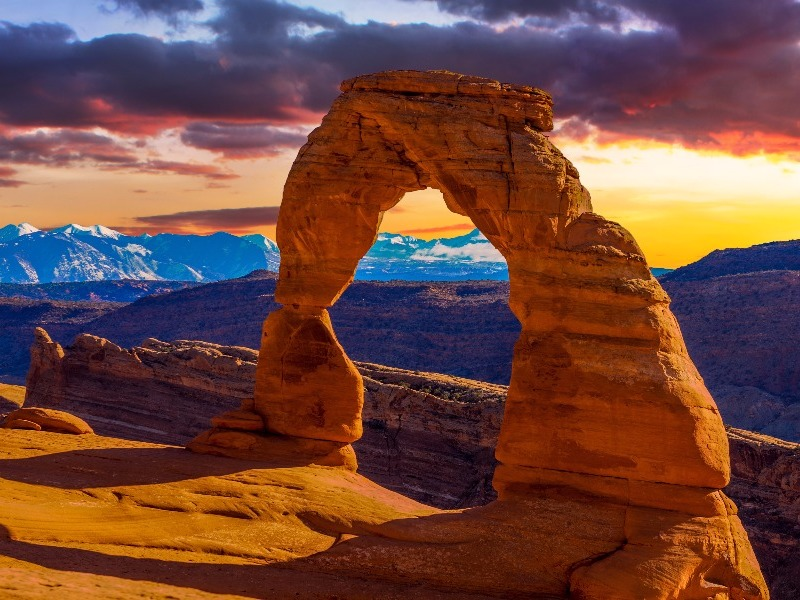 10 of the Best Places to Visit in Utah   TripsToDiscover Moab Arches National Park