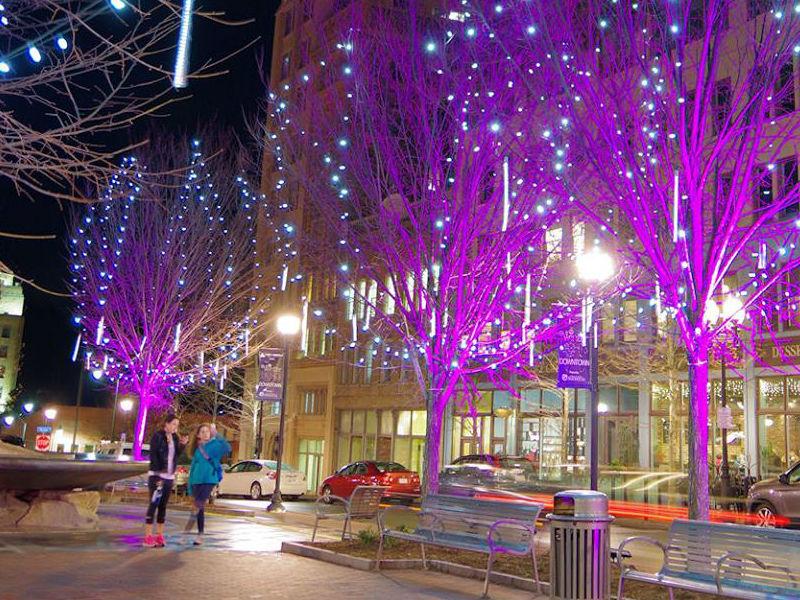 Christmas Lights Walls