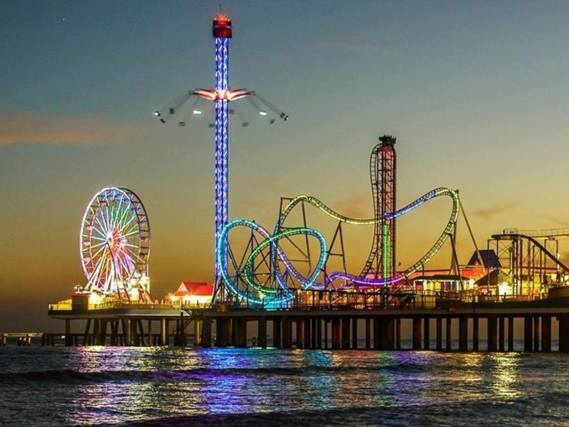 9 Best Coastal Cities to Visit in Texas   TripsToDiscover Galveston Historic Pleasure Pier