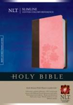 Slimline Center Column Reference Bible NLT, TuTone