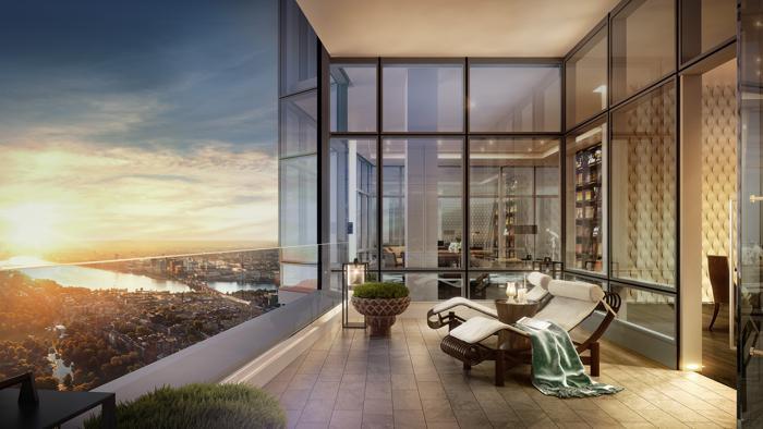 boston real estate, real estate, penthouse,