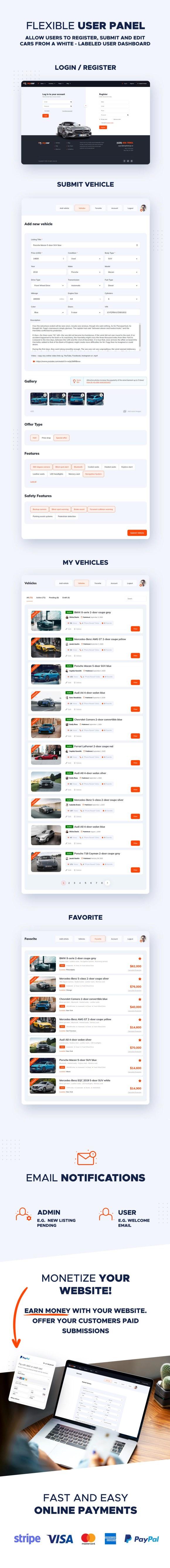 Vehica Directory Listing, Car Dealer - 10