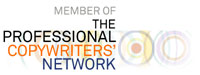 Member of the Professional Copywriters' Network