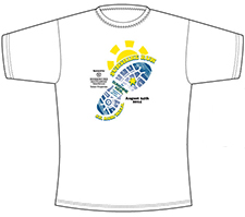 Sunshine Run tech shirt