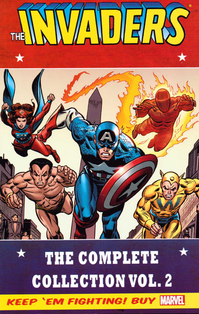 Cover for Invaders Classic: The Complete Collection (Marvel, 2014 series) #2