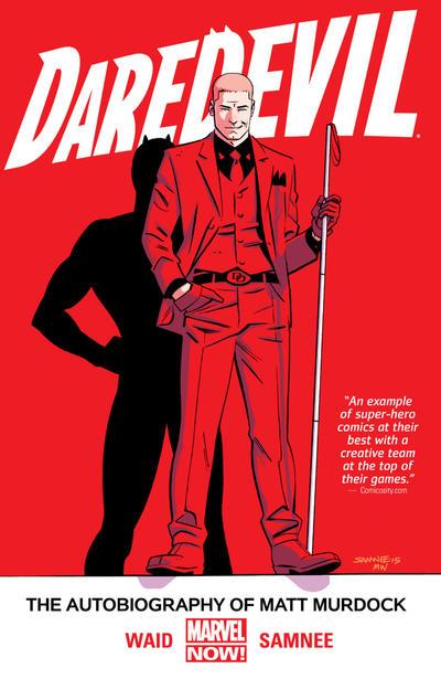 Cover for Daredevil (Marvel, 2014 series) #4 - Autobiography of Matt Murdock
