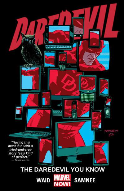 Cover for Daredevil (Marvel, 2014 series) #3 - Daredevil You Know