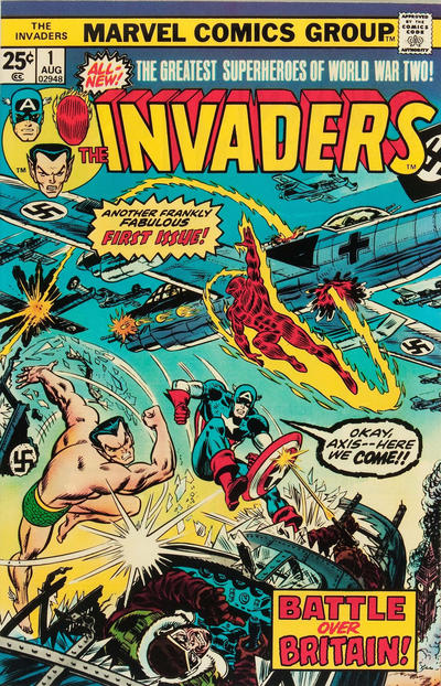 Cover for The Invaders (Marvel, 1975 series) #1