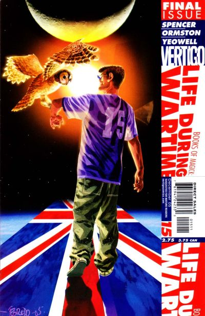 Cover for Books of Magick: Life During Wartime (DC, 2004 series) #15