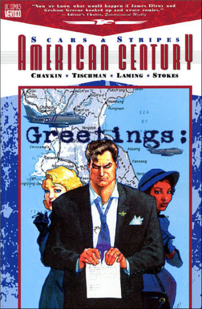 Cover for American Century (DC, 2001 series) #1 - Scars and Stripes