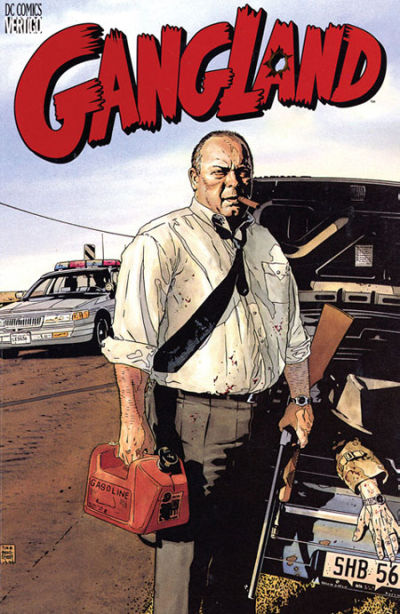 Cover for Gangland (DC, 2000 series)
