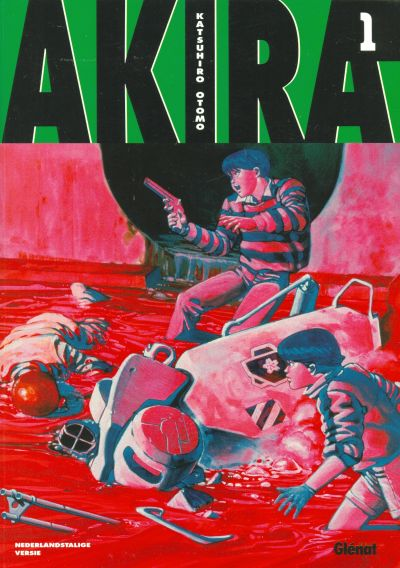 Cover for Akira (Glénat Benelux, 2002 series) #1
