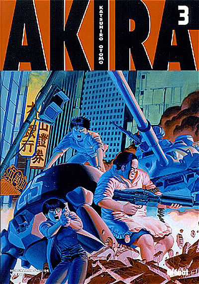 Cover for Akira (Glénat Benelux, 2002 series) #3