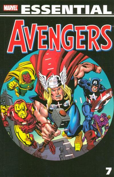 Cover for Essential Avengers (Marvel, 1999 series) #7
