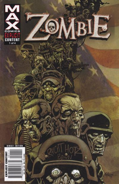 Cover for Zombie (Marvel, 2006 series) #1