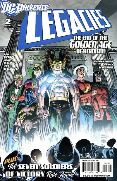 Cover for DCU: Legacies (DC, 2010 series) #2 [Regular cover]