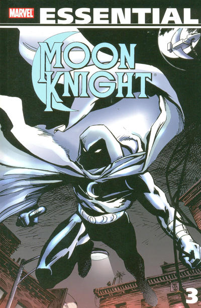 Cover for Essential Moon Knight (Marvel, 2006 series) #3